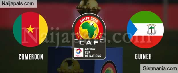 Cameroon v Guinea Bissau - African Cup Of Nations Group Match, Scorers And Stats
