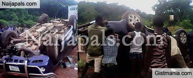 Horrible Accident Along Enugu-nsukka Road This Morning -Photo