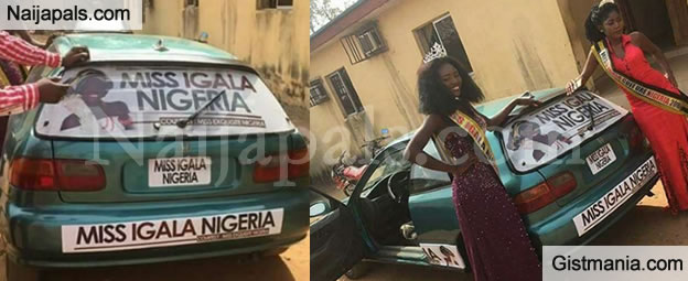 See The Car Gift Presented To The Winner Of A Beauty Pageant Organised In Kogi State (Photos)