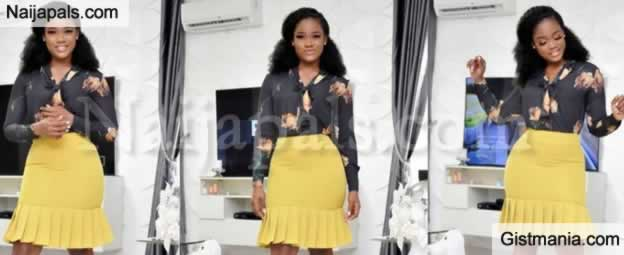 'Everything Is Working In My Favour' – Lawyer Cee-C As She Shows Off Her Professional Look (Photos)