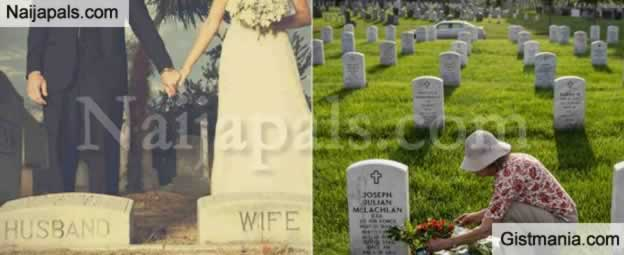 Man Marries Woman He Met At The Cemetery