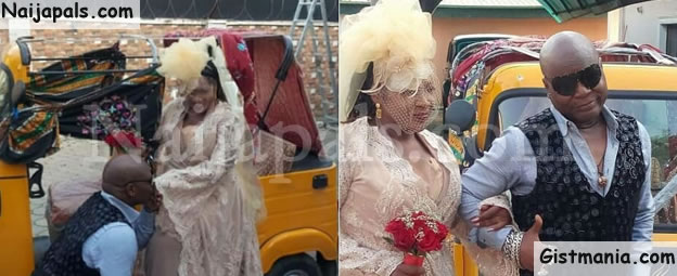AREA FADA! Charly Boy Remarries His Wife Of 40 Years, Diane Oputa (Photos)