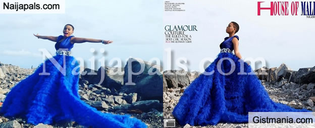 [PHOTOS] Miss Kedike, Chidinma Looks Extra Gorgeous As She Covers July Edition Of House Of Maliq Mag