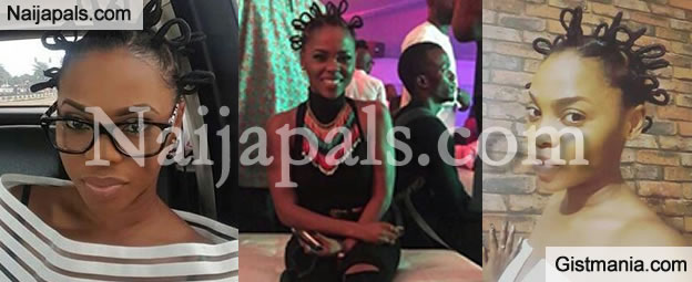 Kedike Singer, Chidinma Ekile Shows Off New African Hairstyle.