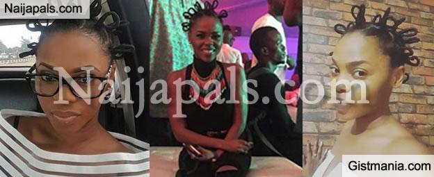 Kedike Singer, Chidinma Ekile Shows Off New African Hairstyle.