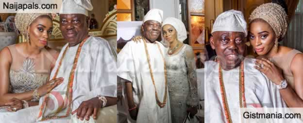 Billionaire, Chief Rasak Okoya Thomas and Wife Sade, Celebrate 20 Years Wedding Anniversary In Style