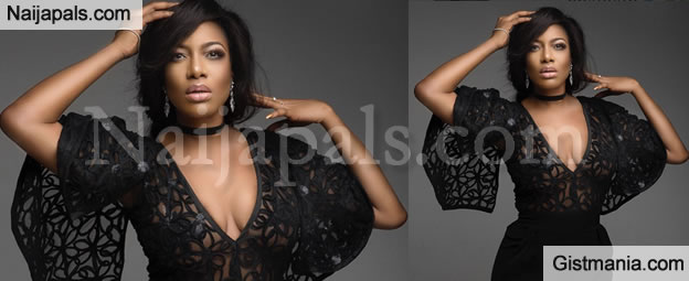 Trashy Or Classy? Actress Chika Ike Reveals A Lot Of B00bs In This See Through Outfit - Photos