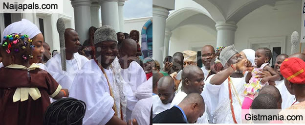 Photos From The Children's Day Celebration With Ooni Of Ife And His Olori, Wurola
