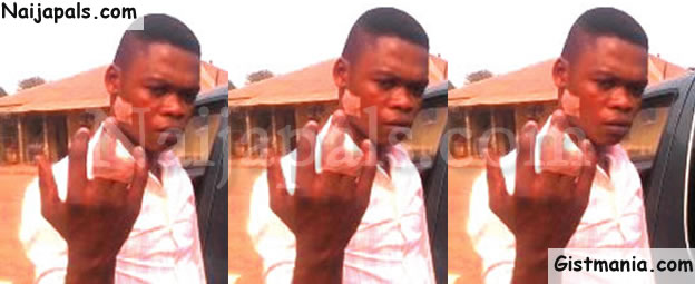 Photo: Wicked Chinese Cuts Off Nigerian Worker's Finger With Matchette In Cross River