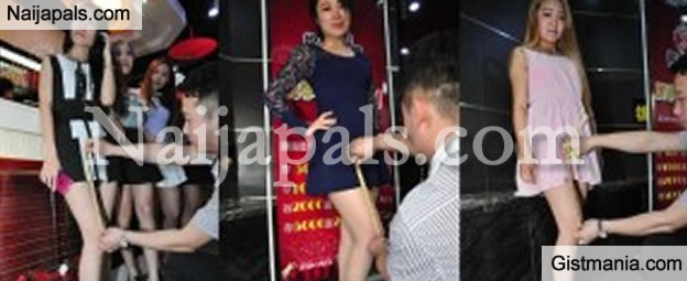 SERIOUS MARKETING! Chinese Restaurant Offers Cheap Meals To People With Short Skirts