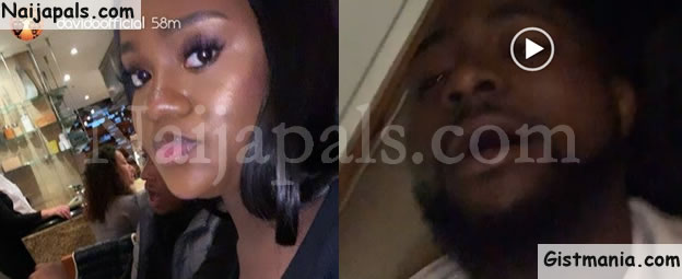 DMW Boss, Davido & His 'Assurance Lover', Chioma Enjoys Dinner While On Vacation In London (Videos)
