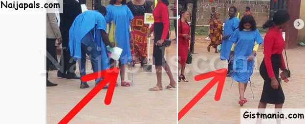 Winners Chapel Auchi Gives Church Goers Who Dressed Inappropriately, Maternity Gowns To Wear (Photo)