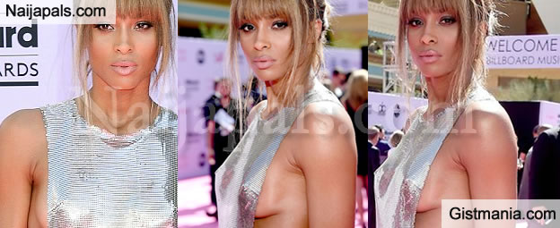PHOTOS: See How Celibate Ciara Was Dressed To The Billboards Awards Last Night