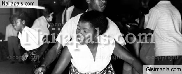 Photo Of What a Night Club In Lagos, Nigeria Looked Like In 1959