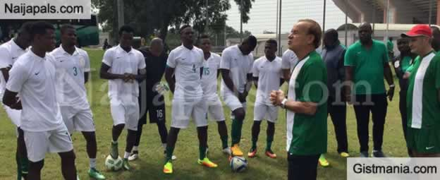 Rohr Unveils Players He Won't Invite For AFCON 2019 Tournament