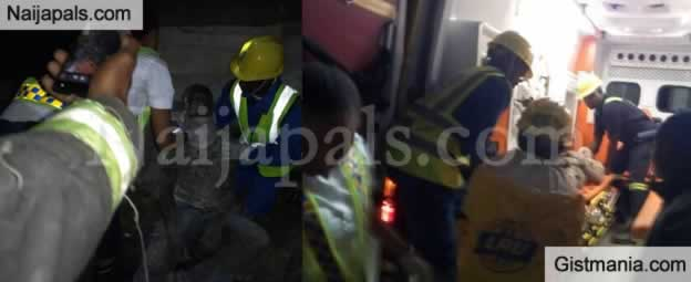 Not Again! Another Three Storey Building Collapses In Lagos (Photos)