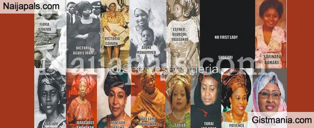Photo: Check Out A Collection Of All The Past And Present First Ladies Of Nigeria