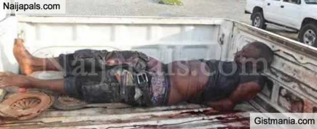 Graphic Photos Of Community Chief Shot Dead In Rivers By Men In Military Uniform