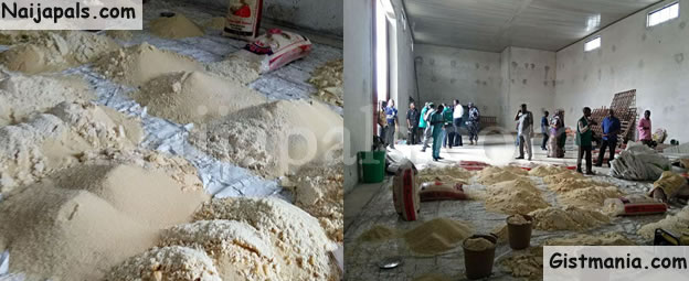 BEWARE! See The Contaminated Rice Uncovered By CPC Officials In Uyo (Photos)
