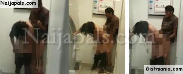 Randy Couple Caught Having Sex Close To An ATM(Photos)