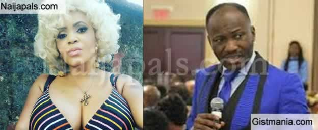 """Come and Settle Me"" -Cossy Orjiakor Calls Out Apostle Suleman Johnson For Abandoning Her"
