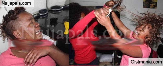 Hair Stylist Rips Off Client's Newly Fixed Weave After Her 'Maga' Absconds Without Paying - Photos
