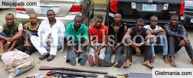 Police Arrest Nine Cults Members In Rivers State