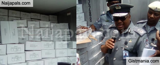 Customs Seize N5BN Worth of Tramadol and Codeine In Lagos Warehouse