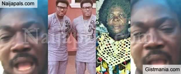 'Mamuzee Twins Neglect Their Mother For 17Yrs Because Pastor Told Them She's A Witch' - Daddyshowkey