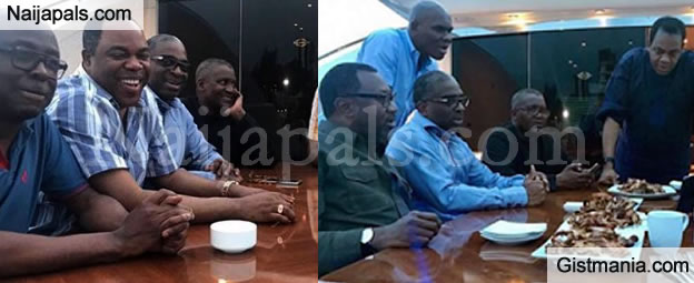 Money Knows No Religion: Donald Duke, Otedola & Other Billionaires Celebrate Sallah With Dangote On A Yatch (Photos)