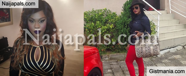 Photos Of A Big Snake That Was Killed In Danielle Okeke's House In Lagos