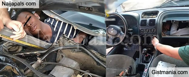 HOW DESPERATE?! Migrants Stuffed In Car Engines, Dashboards Heading For Europe (Shocking Photos)