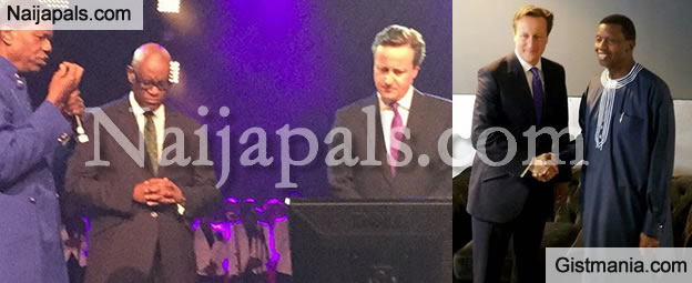 UK Prime Minister, David Cameron Meets With Pastor Adeboye For Prayers (Photos)