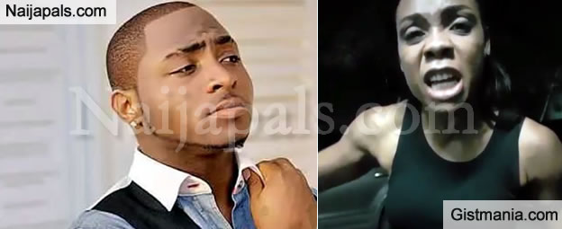 Super Dancer, Kaffy Comes For Davido After He Refused To Let Her Perform With Him (Video)