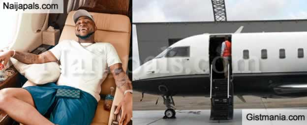 FINALLY! Davido Admits Private Jet Belongs To His Dad After He Was Busted