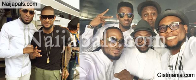 Dbanj And His Sexy Dancers Hang Out With Commons, Usher, Will.I.Am In New York