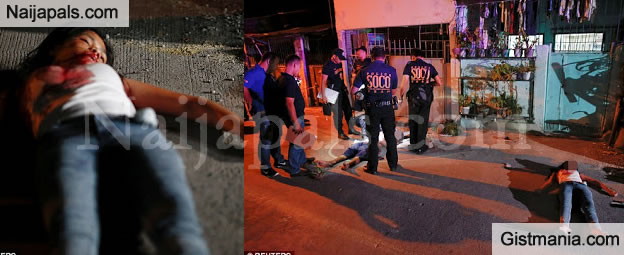 OH NO! Teenage Girl Shot Dead Alongside Friend While Sealing A Drug Deal In Phillippines - Photos