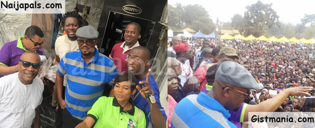 Photos From Actor Cum Comedian, Dede-one-day's Burial In Imo State