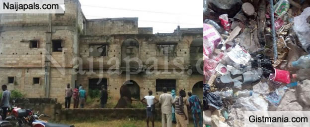 Kidnappers/Ritualist Den Discovered Beside Ondo State House Of Assembly - Gistmania