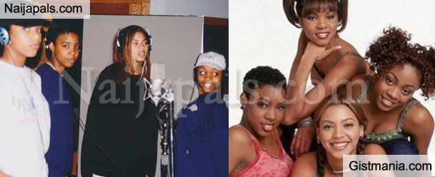 """Beyonce Shares Throwback Photos With Former Group, """"Destiny's Child"""" To Mark 20yrs Of First Album"""