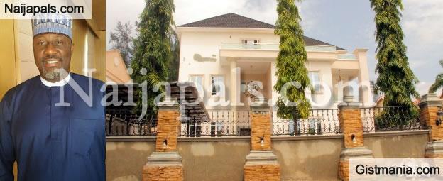 PHOTOS: Anti-Corruption Campaign Crusader, Dino Melaye Buys N1.3Bn Mansion In Abuja