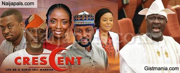"Senator Dino Melaye Stars In His First Nollywood Movie - ""The Cresent"" (Video)"