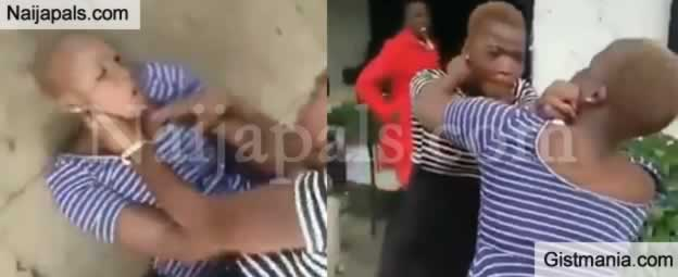 What Could Make These Pretty Ladies Fight This Shamelessly and Dirty in Public? (Photos)