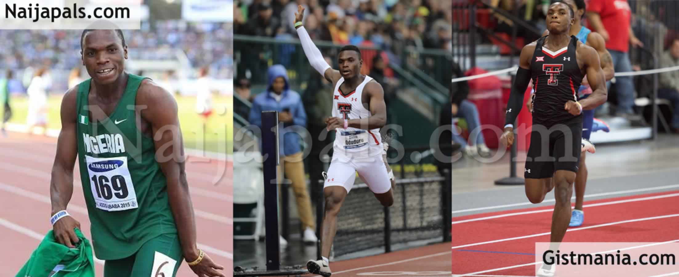 Nigerian Athlete 'Divine Oduduru' Becomes The Fastest Man In The World