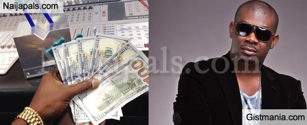 Don Jazzy Gave $600 Each To Guests At His 33rd Birthday Party (Photos)