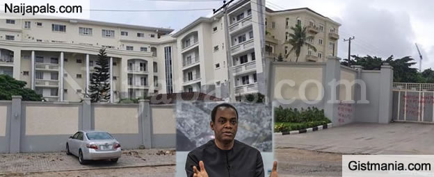 Photos Of Donald Duke's Ikoyi Mansion That Was Taken Over By AMCON Today