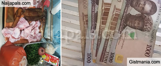 Guys Go To Market Yourself -  Man Advises After Using 5k To Buy Food Stuff In The Market