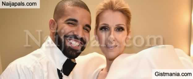We Can Collaborate, Together But Don't Tattoo My Face On Your Body - Celine Dion Begs Drake