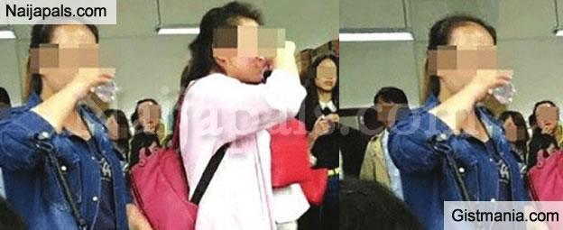 OMG!!! Professor Forces Student To Drink Liquor As A Prerequisite To Passing Exams