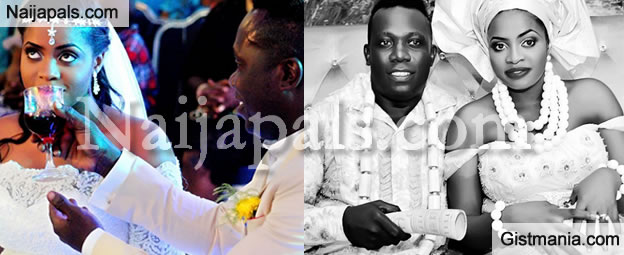 Extra Cool Photos Of Duncan Mighty's Wedding To Vivien